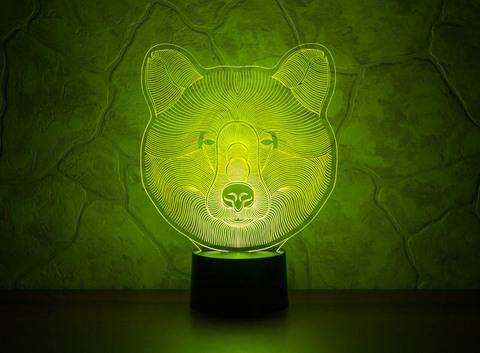 Светильник Медведь