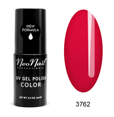 NeoNail Гель лак UV 6ml Raspberry Red №3762-1