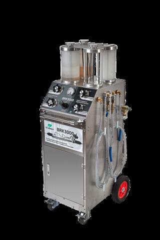Установка GrunBaum BRK3000 для замены жидкостей тормозной системы и гидроусилителя руля