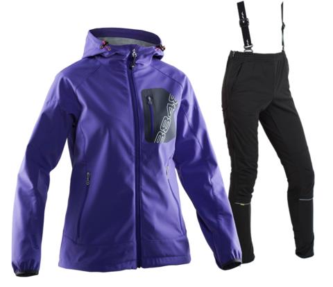Женский лыжный костюм 8848 Altitude Jesse/Vico purple