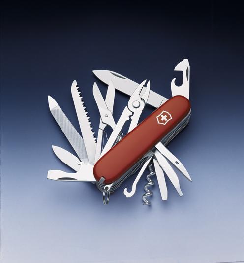 Нож Victorinox Handyman, 91 мм, 24 функции, красный*