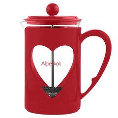 Френч-пресс 800мл Alpenkok АК-710/80 красный