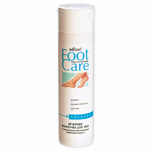 Белита Foot Care Вечерняя ванночка для ног с ароматом натуральных эфирных масел 250мл