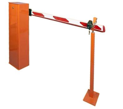 Шлагбаум ручной с длиной стрелы от 2 до 4 метров