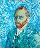 Перьевая ручка Visconti Van Gogh Автопор гол отд хром 18 гр (VS-783-25M)