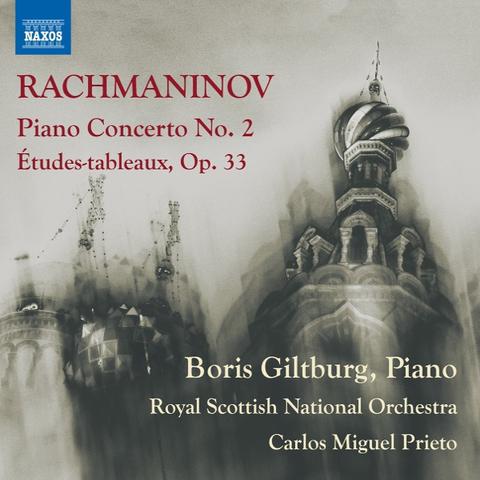 Boris Giltburg, Royal Scottish National Orchestra, Carlos Miguel Prieto / Rachmaninov: Piano Concerto No. 2, Etudes-Tableaux, Op. 33 (CD)