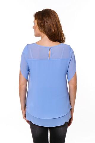 Блузка 08667 синий