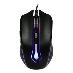 Игровая мышь проводная RUSH SBM-712G-K черный SMARTBUY