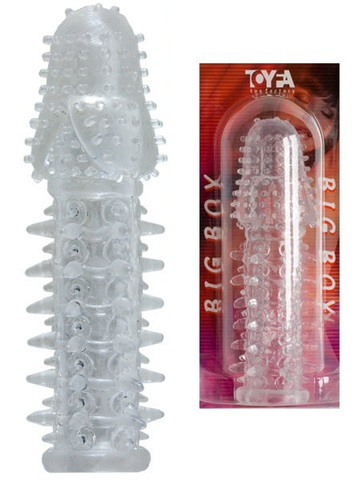 Penis Sleeve с шишечками и шипами (13,5 х 2,5 см)