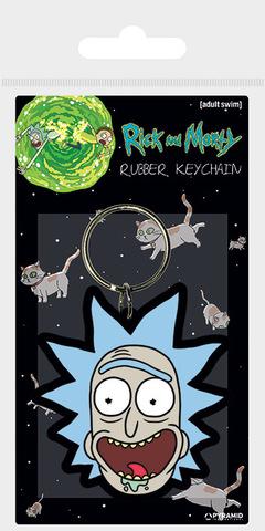 Брелок силиконовый Rick and Morty (Рик)