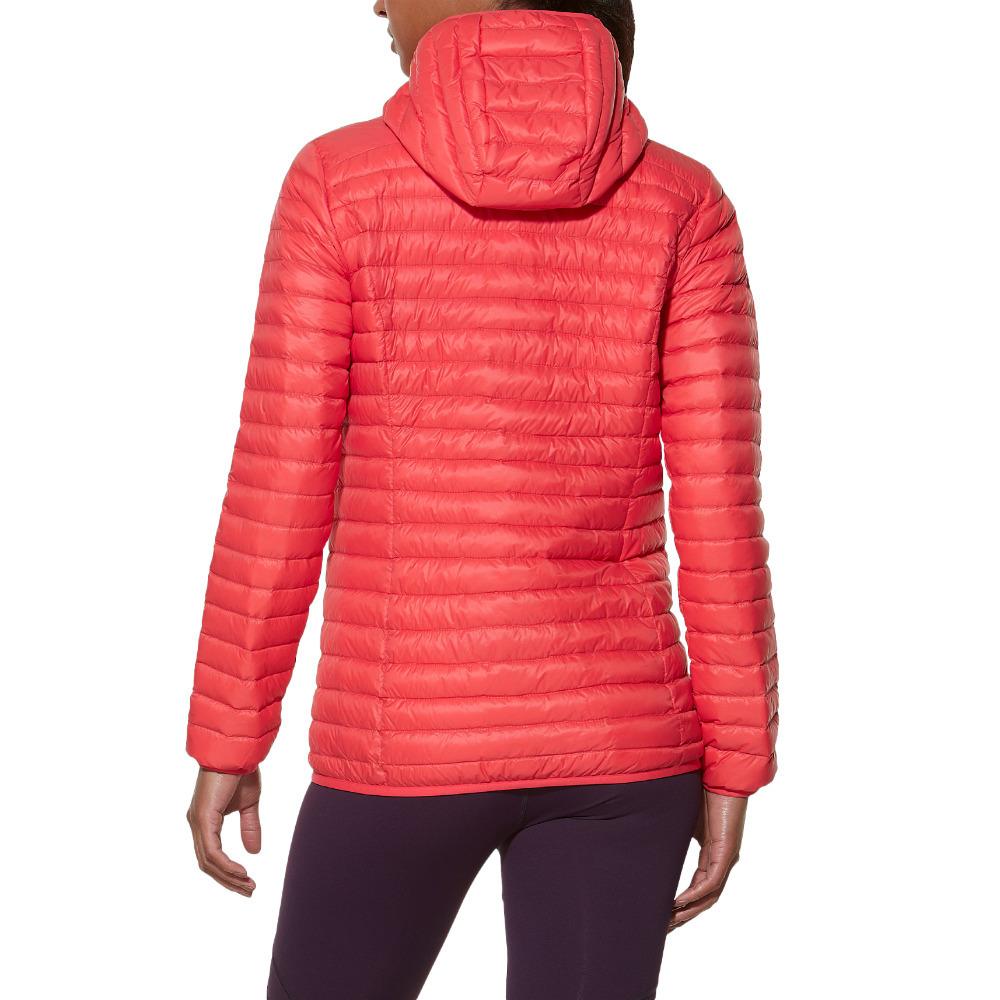 Женская утепленная куртка асикс Med Fill Jacket (125802 0677) коралловая