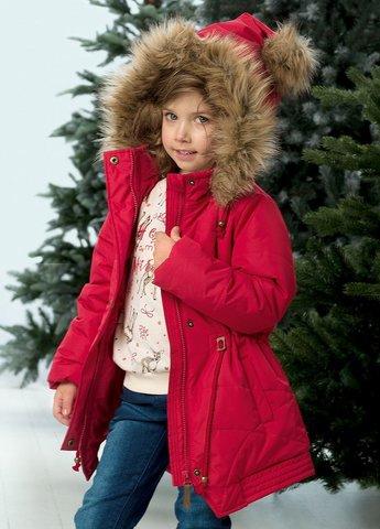 Pelican GZWL3078 Куртка для девочек зимняя малиновая