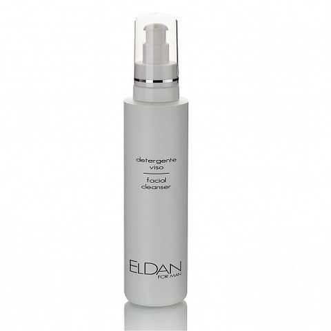 Eldan Faсial cleanser, Очищающий гель для лица для мужчин, 250 мл.