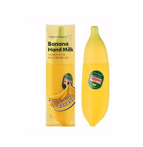 Крем для рук Tony Moly Magic food Banana Hand milk. 45ml.