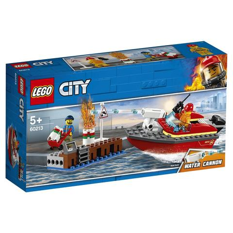LEGO City: Пожар в порту 60213 — Dock Side Fire — Лего Сити Город