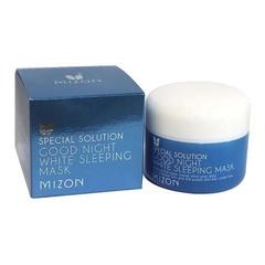 Mizon Good Night White Sleeping Mask - Успокаивающая, отбеливающая ночная маска для лица