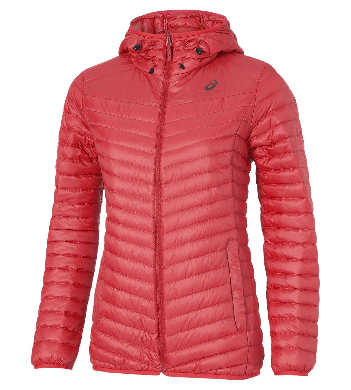 Женская утепленная куртка Asics Med Fill Jacket (125802 0677) коралловая