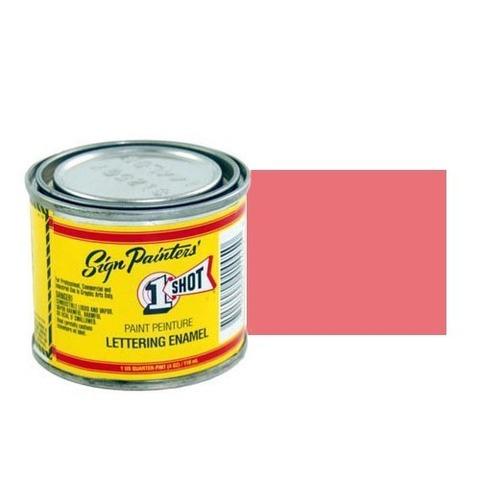 168-L Эмаль для пинстрайпинга 1 Shot Розово-лососевый (Salmon Pink), 118 мл