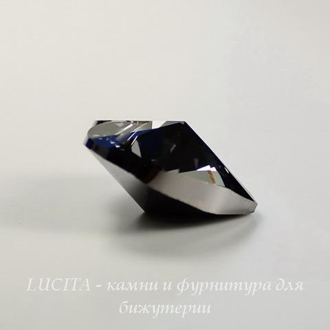 6228 Подвеска Сваровски Сердечко Crystal Silver Night (18х17,5 мм)