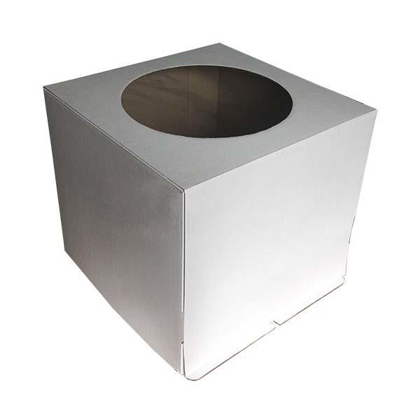 Коробка для торта 30*30*30 с окном