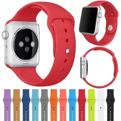 Ремень для Apple Watch силиконовый 38 mm