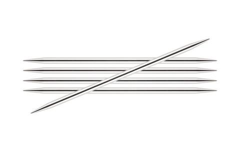 Спицы KnitPro Nova Metal чулочные 3,75 мм/20 см 10108