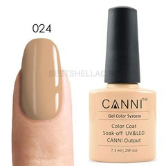 Canni, Гель-лак 024, 7,3 мл