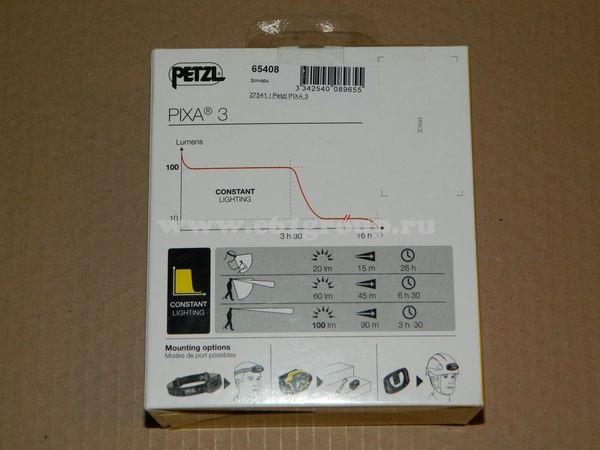 светодиодный фонарь Petzl PIXA 3 интернет магазин