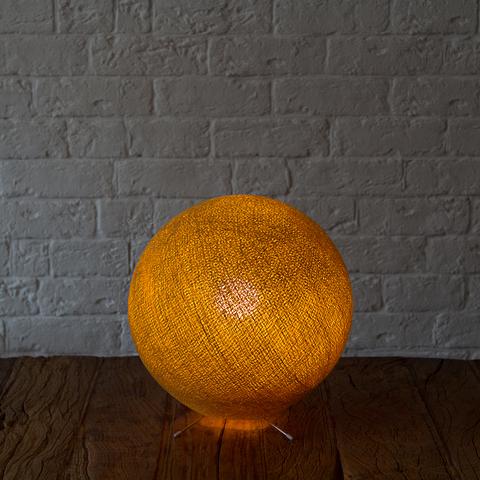 Хлопковый светильник золотистый