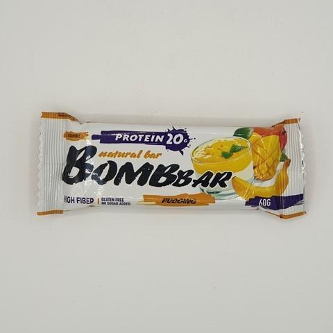 Батончик Natural Bar вкус Манго-Бабан BOMBBAR, 60 гр
