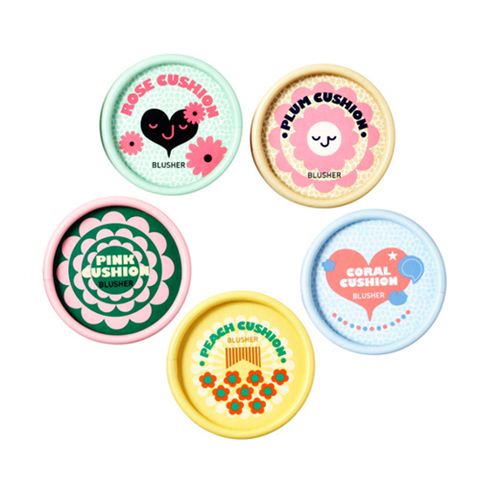 Румяна THE FACE SHOP Lovely Mix Pastel Cushion Blusher 5g