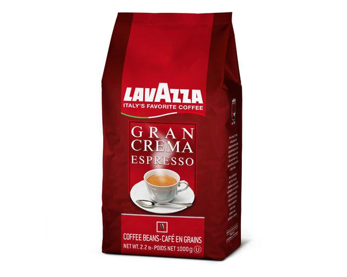 Кофе в зернах LavAzza Gran Crema Espresso, 1 кг (Лавацца)