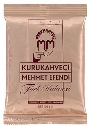 Купить Турецкий кофе Kurukahveci Mehmet Efendi (Мехмет Эфенди) 100 гр