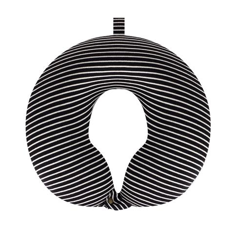 Подушка дорожная Stripes Black