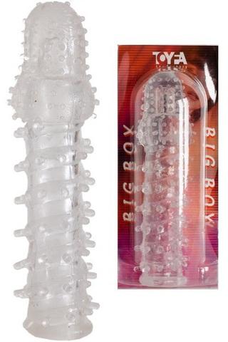 Насадка на половой член с шипами ToyFA (2,5 х 8 см)