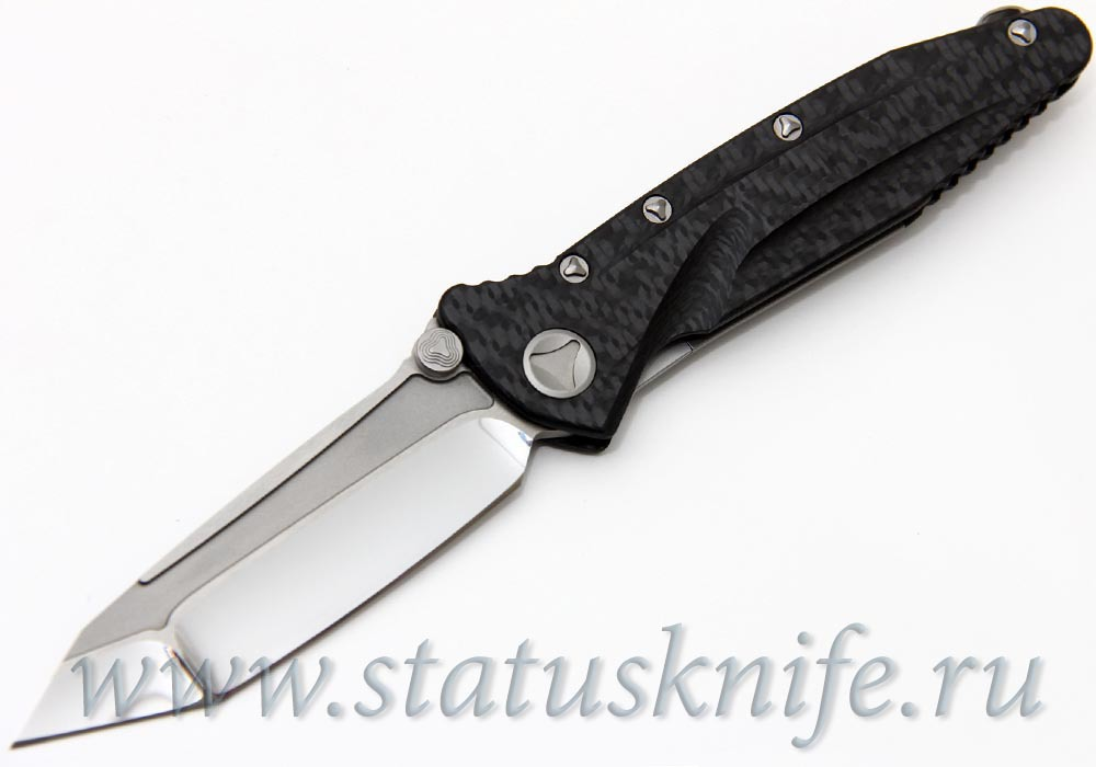 Нож Custom Microtech Marfione Socom Delta Tanto Knife Carbon Fiber (High Polish)