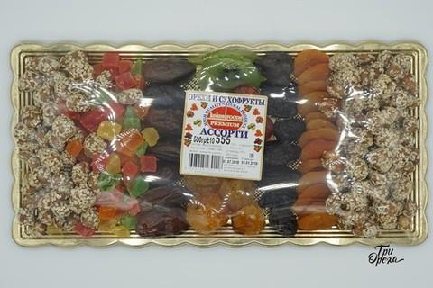 Ассорти из орехов и сухофруктов, 500 гр