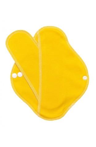 Многоразовая прокладка с вкладышем (желтая)
