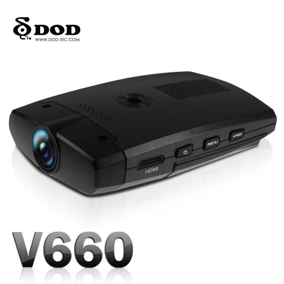 Автомобильный видеорегистратор с ночным режимом DOD V660