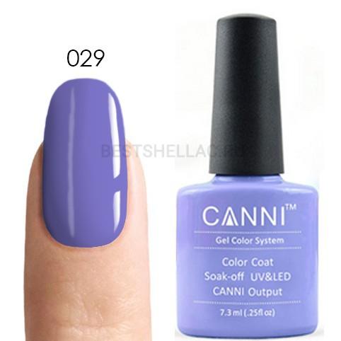Canni Canni, Гель-лак № 029, 7,3 мл 029.jpg