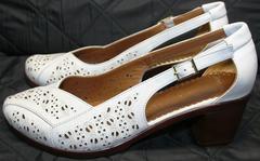 Женские туфли босоножки Marani Magli 031 405 White.