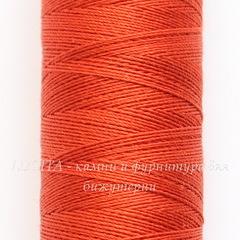 Нить шелковая Gutermann для вышивки, оранжевая, 100 м