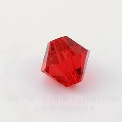 5328 Бусина - биконус Сваровски Light Siam 3 мм, 10 штук