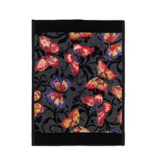 Полотенце 37x50 Feiler Papillon черное