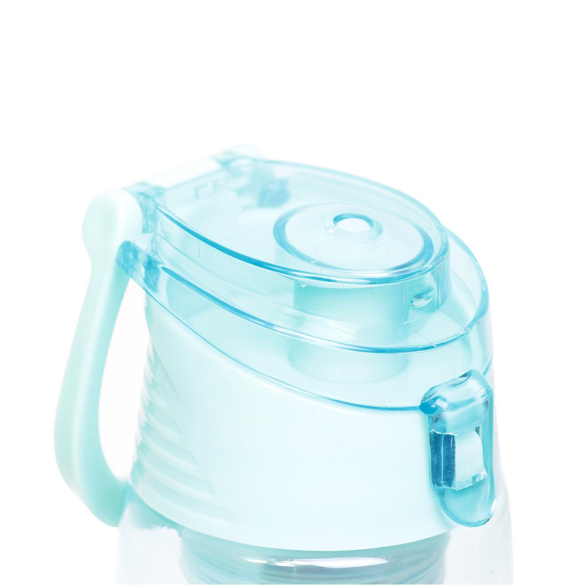 Бутылка для воды с ситечком 660 мл. Kamille голубая