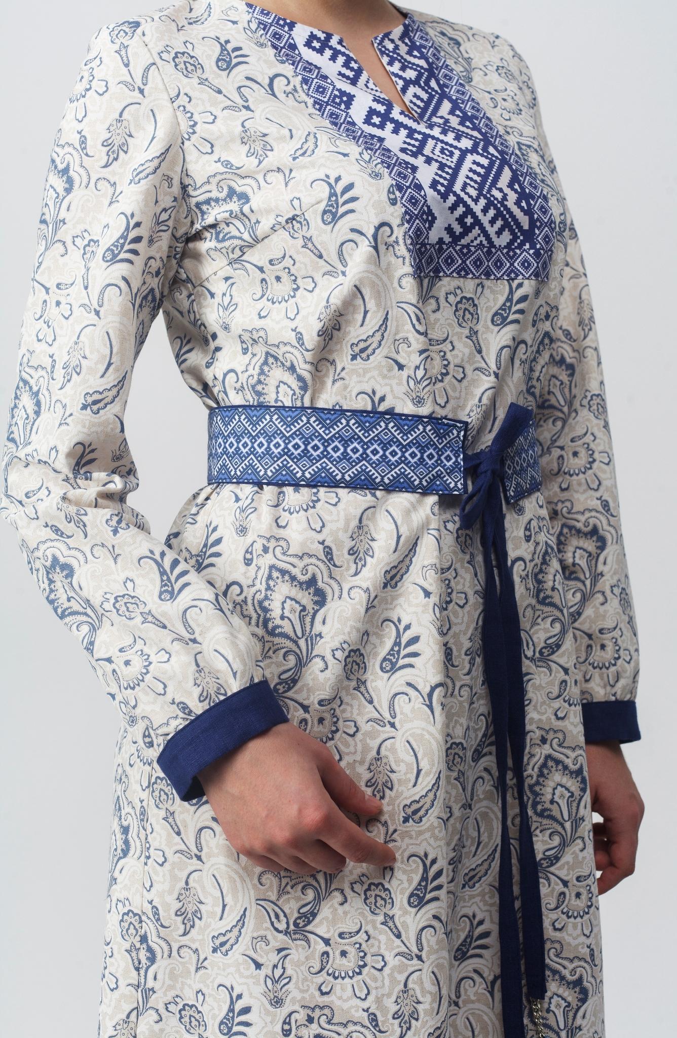 Платье Времена года Осень приближенный фрагмент