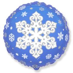 И 18 Круг Снежинка (Эксклюзивный рисунок)