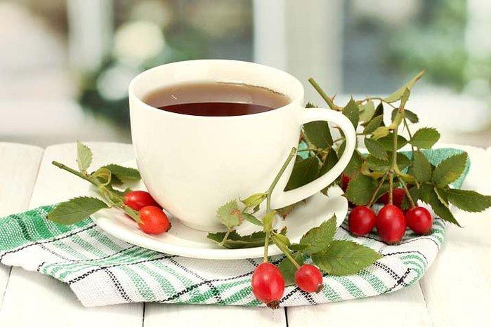 Чай «Живая ягода», сушеный шиповник для заваривания от 250 руб