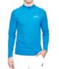 Мужская рубашка для бега Asics Zip Top (110410 0823) голубая фото