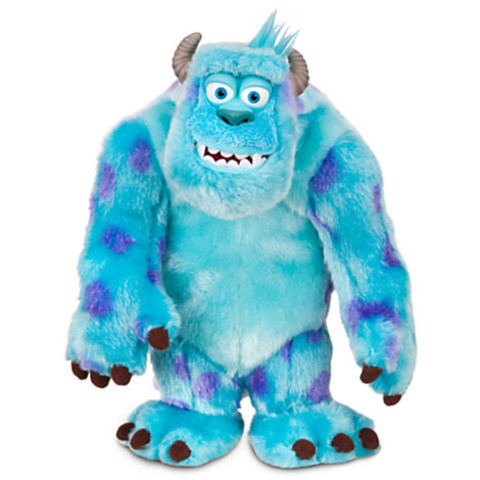 Monsters University - Sulley Speak-N-Scare Talking Action Figure